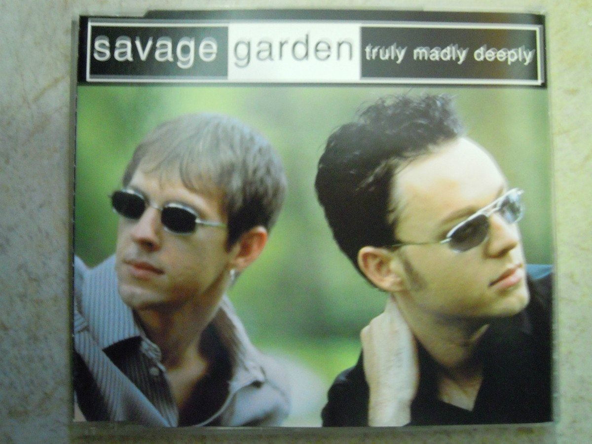 savage garden single truly madly deeply import austria
