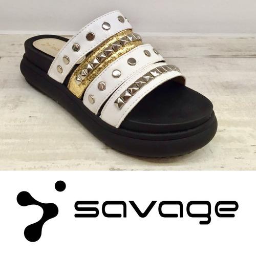 savage zapatos directo de fabrica. sandalia sol-350