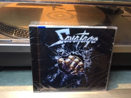 savatage - power of the night - cd made in usa