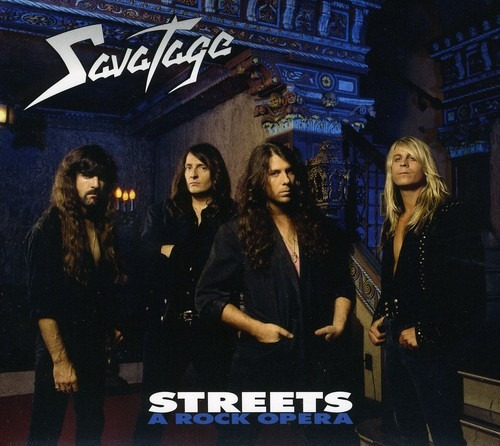 savatage streets: rock opera cd uk import