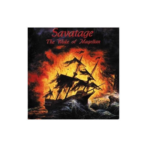 savatage wake of magellan uk import cd nuevo