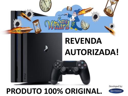 save wizard - ps4 - 100% original com revenda autorizada.