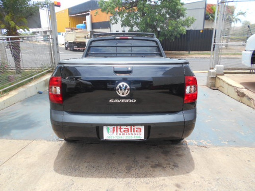 saveiro 2014 1.6 cab. estendida preta itália caminhões