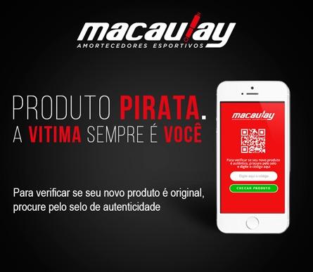saveiro g 5/6/7 suspensão rosca regulável macaulay oficial