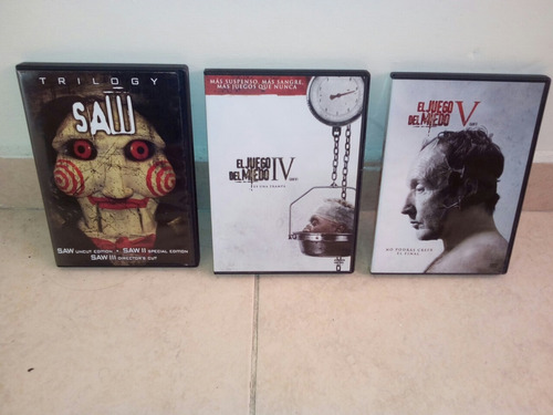 saw 1 2 3 4 original dvd