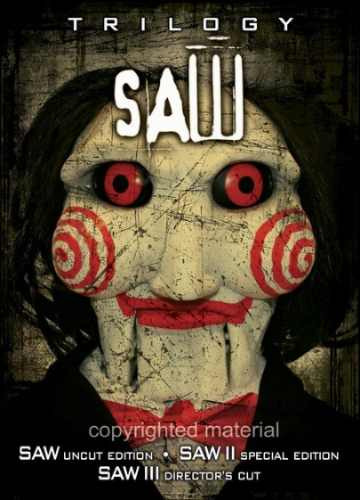 saw, la trilogía. original y sellada (6 discos)