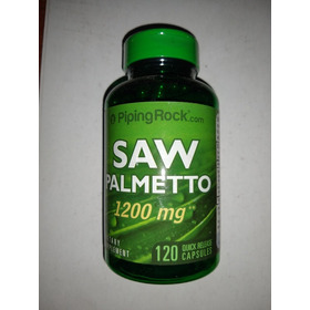 Saw Palmeto 1200 Mg X120 Capsulas Desinflama Tu Prostata Usa