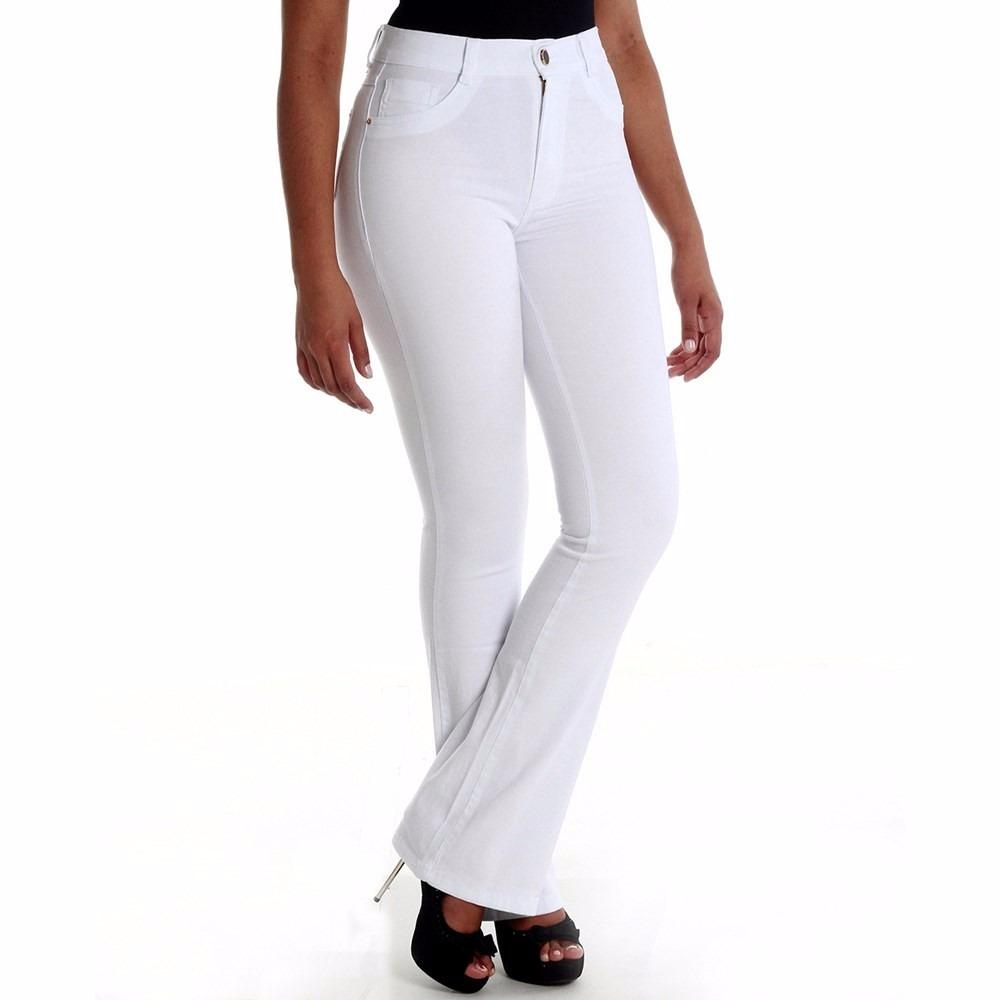 5b552ceee sawary jeans calça cintura alta hot pant flare. Carregando zoom... sawary  jeans calça. Carregando zoom.