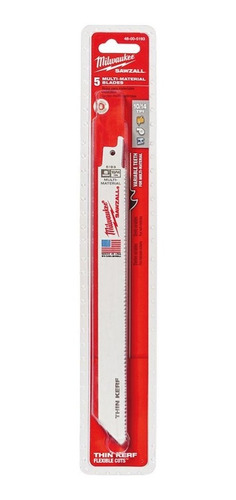 sawzall bl 10/14t 8lg mm thin kerf 5pk milwaukee 48-00-5193