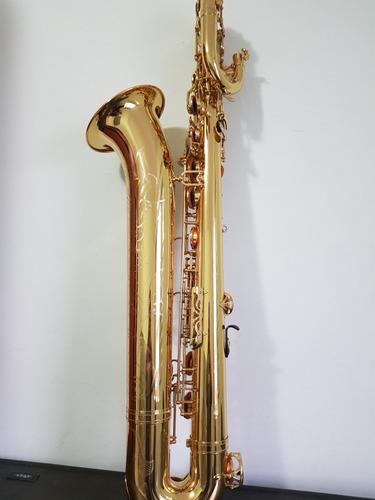 sax barítono yamaha ybs62 excelente sax, estojo original sp