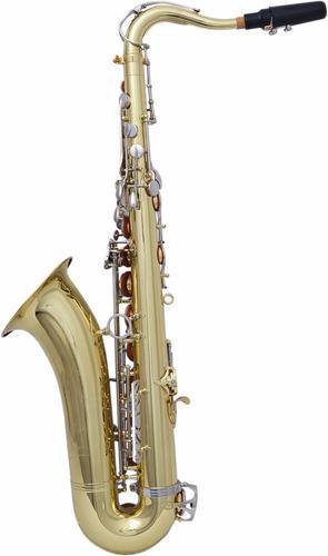 sax tenor niquelado zion importado - frete grátis