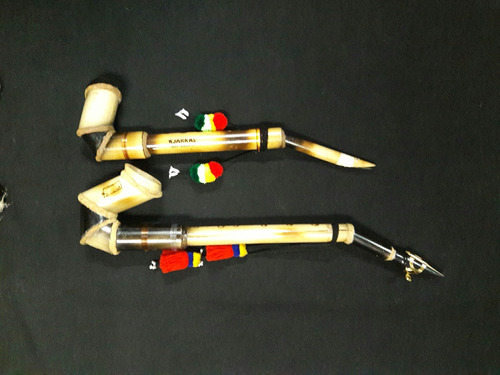 saxo andino en bambú profesional