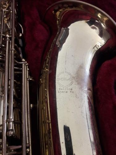 saxo saxofón barítono taiwanes