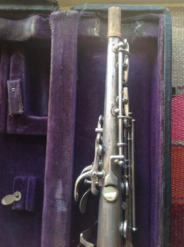 saxo soprano conn c.g elkhart u.s.a
