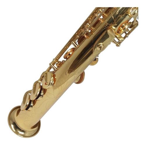 saxo soprano dorado lsxs1 lubeck - envío gratis -