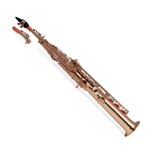 saxo soprano high f con estuche stagg wsss225s