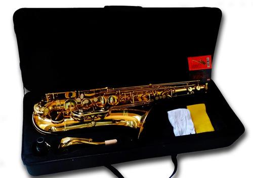 saxo tenor etinger con case rígido