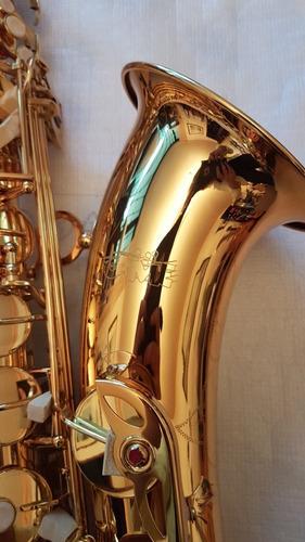 saxo tenor marca camemusic estuche accesorios nuevo!!!