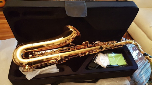 saxo tenor marca camemusic nuevo!!!
