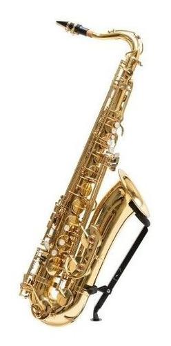 saxo tenor master parquer +estuche+cañas+kit limpieza cuota