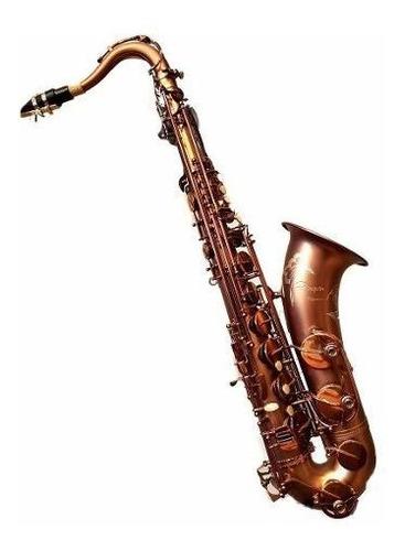 saxo tenor renaissence parquer+estuche+kit limpieza cuota