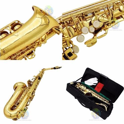 saxofon alto lade envio gratis estuche accesorios nuevo sax