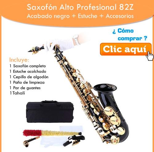 saxofon alto sax lade mib estuche accesorios barato nuevo