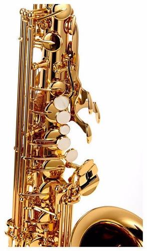 saxofón alto yamaha yas-280 + estuche original + garantía
