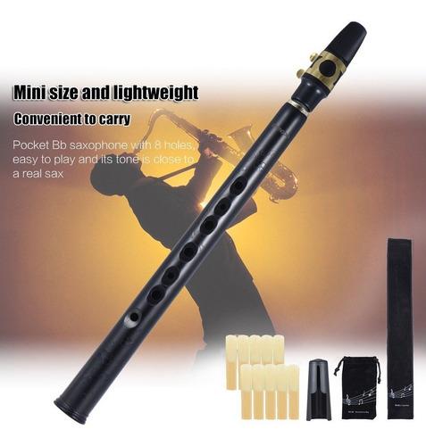 saxofon ammoon b-abajo mini abs 2 bolsas 10 cañas offer in