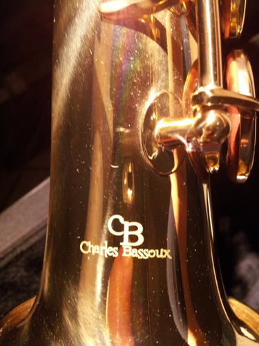 saxofon soprano italiano nuevo