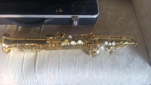 saxofon soprano  usado