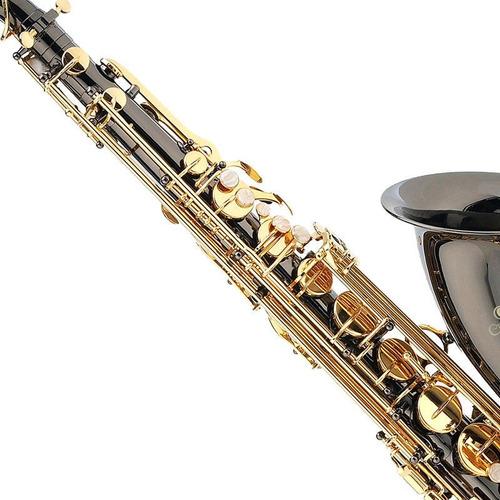 saxofon tenor mendini negro envio gratis
