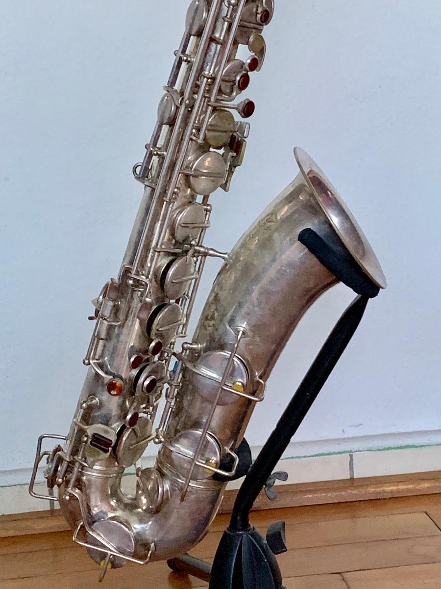 Saxofon Tenor Weltklang Aleman Buen Material Y Sonido Oscuro Excepcional  Mucho Cuerpo - $ 12,000 00