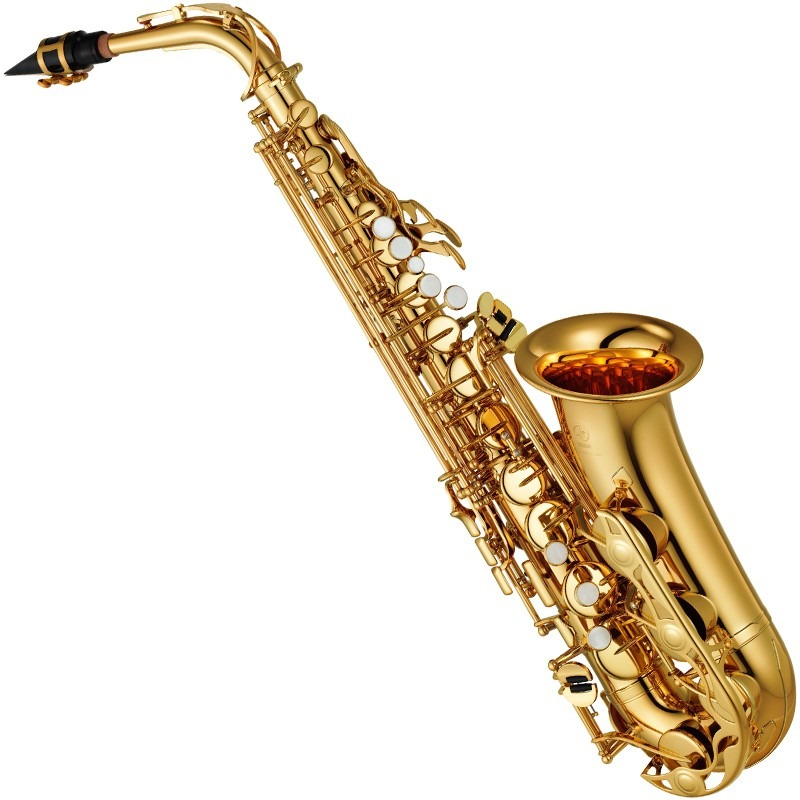 saxofone sax alto laqueado yamaha yas 280 id eb com case. Black Bedroom Furniture Sets. Home Design Ideas