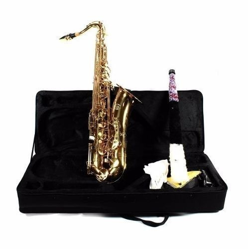 saxofone tenor bb jahnke laqueado jsth001