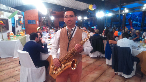 saxofonista eventos