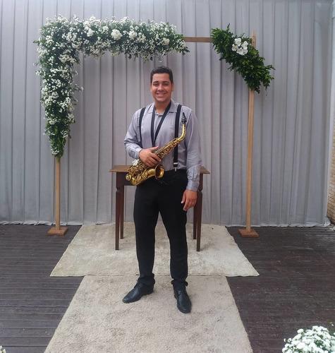 saxofonista para casamentos/eventos sociais/aniversário
