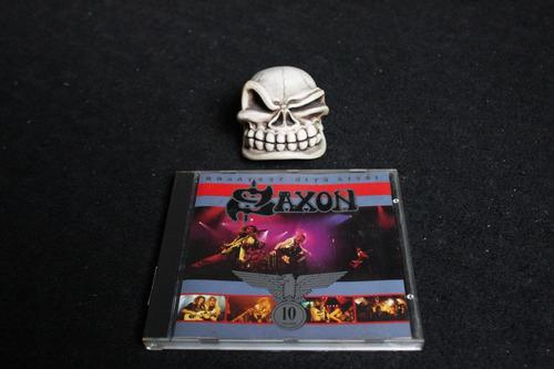 saxon greatest hits live ! importado cd  !!!!