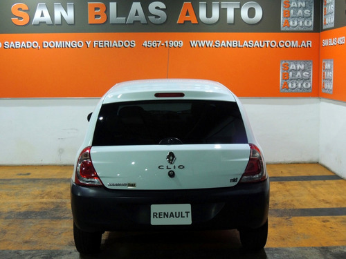 sba anticipo! renault clio mio authentique 2013 pack 1.2 aa