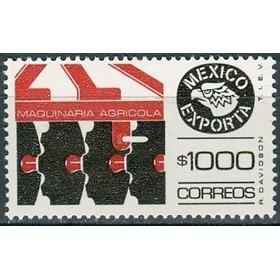 Sc 1588 Año 1987 Exporta Serie 10 Maq Agricola 1000p Sin Tra