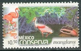 sc 2253a (s3) año 2004 conserva manglares .50c perf 13