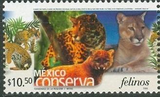 sc 2269 (s2) año 2002 conserva felinos 10.50p perf 14