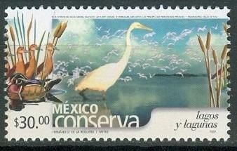 sc 2274 (s2) año 2002 conserva lagos y lagunas 30p perf 14 a