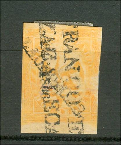 sc 23 año 1866 aguila v periodo 2 reales dist 24 zacatecas