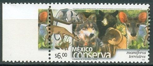 sc 2370 (s3) año 2004 conserva mamiferos terrestres 6p perf