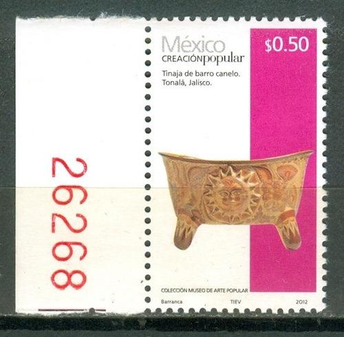 sc 2488 año 2013 creacion popular tinaja de barro canelo .50