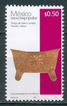 sc 2488 año 2015 creacion popular tinaja de barro canelo .50