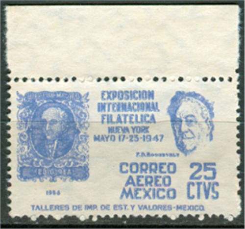 sc c167 año 1947 exposicion internacional filatelica nueva y