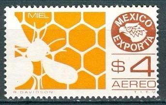sc c495 año 1975 exporta 4 serie miel y aveja 4p