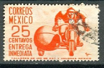 sc e13 año 1952 entrega inmediata motociclista wm 279